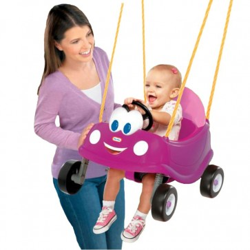 little tikes cozy coupe Princess swing toy