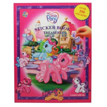 My Little Pony Sticker Book Treasury