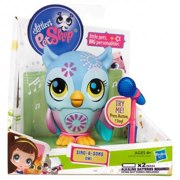 Littlest Pet Shop Sing A Song Pets Owl