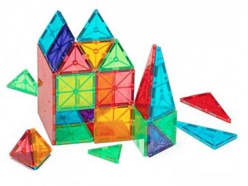 Magna-Tiles Clear Colours 100 Pieces