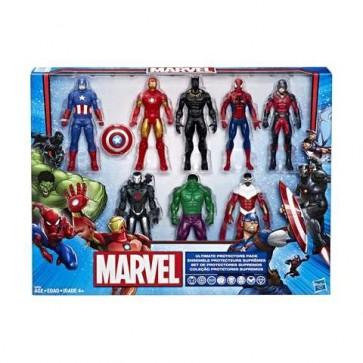 marvel action figure set hasbro toy