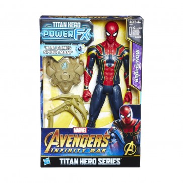 Avengers Infinity War Titan Hero Series: Iron Spider Figure