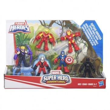 Playskool Heroes Super Hero Adventures Captain America Figure