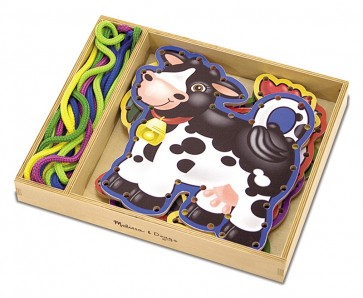 Lace & Trace Farm Animals melissa and doug craft