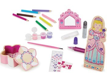 Melissa & Doug Princess craft set