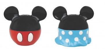 Mickey Minnie Mouse Salt Pepper Shaker ceramic