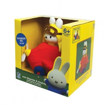 Miffy Squeaky Vehicle Toy