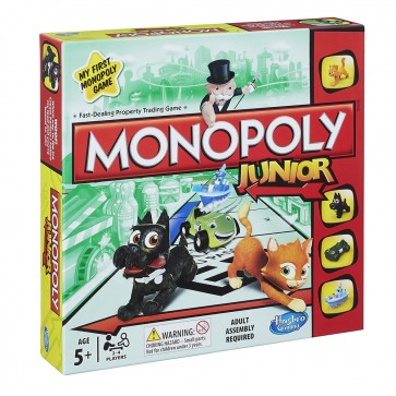 Monopoly Junior Kids Board Game
