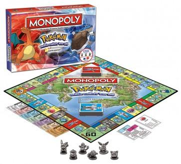 Monopoly Pokemon kanto Edition Board Game