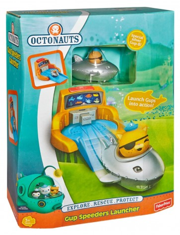 Fisher-Price Octonauts Gup Speeders Launcher