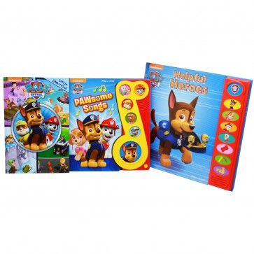 paw patrol interactive story book