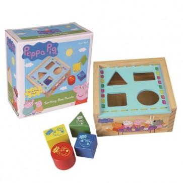 Peppa Pig Sorting Box