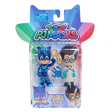PJ Masks Light-Up Figure catboy and romeo