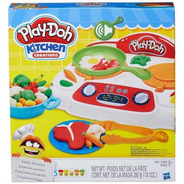 Play-Doh Sizzlin Stovetop cook