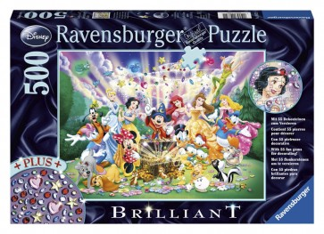Ravensburger Disney Treasure Brilliant Puzzle 500p