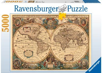 Ravensburger - Historical Map Puzzle 5000 pc