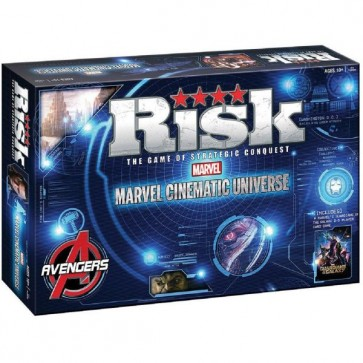 Marvel Cinematic Universe Risk Game and a Guardian of Galaxy