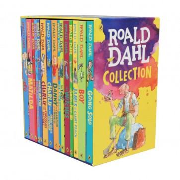 Roald Dahl Collection 15 Fantastic Stories in Slipcase