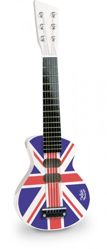 Union Jack Rock and Roll Kids Guitar