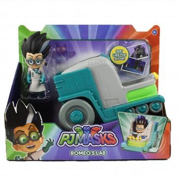 PJ Masks Romeo Figure with Romeo Lab car