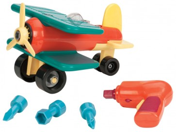 assemble ariplane toy
