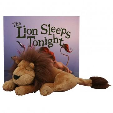 The Lion Sleeps Tonight Book & Plush