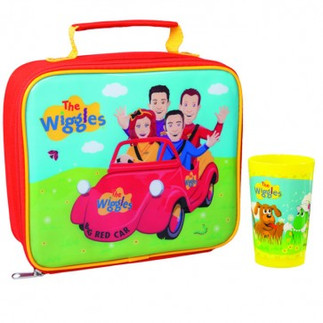 the wiggles bag and cup