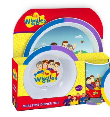 THE WIGGLES kids DINNER SET