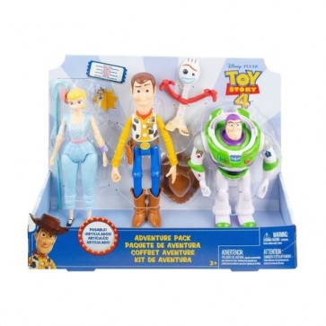 Toy Story 4 Adventure Pack figures