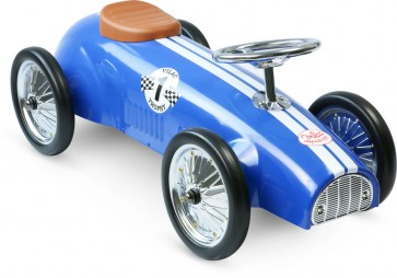 blue Ride On Car by Vilac toy