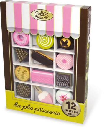 Wooden cake Pastry Toy Set Vilac