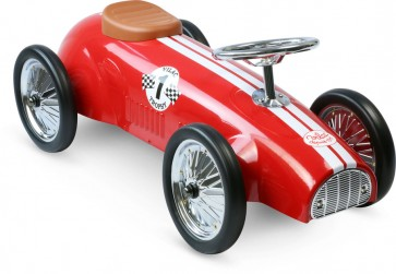 vilac Red Racing Ride On Car