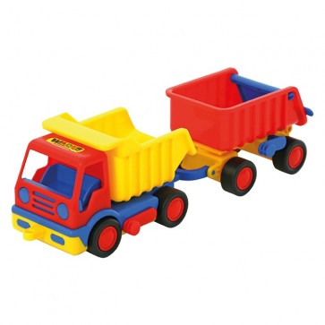 Wader Basic Tip Up Truck with Trailer
