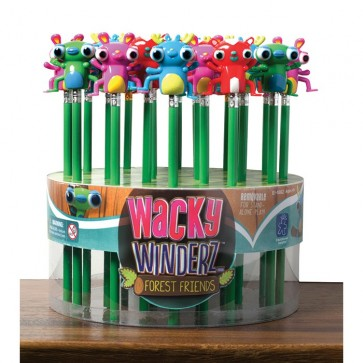 Wind-Up Pencil Toppers Set of 24