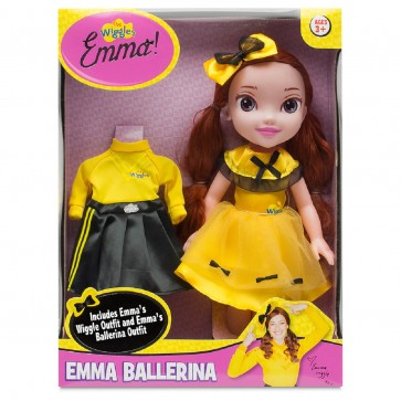 Emma Ballerina Dress Up Doll yellow wiggle