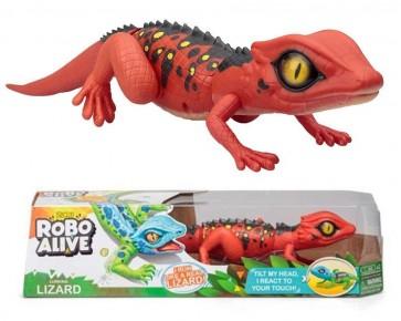 Zuru Robo Alive Robotic Lizard - Saharan Red Lizard