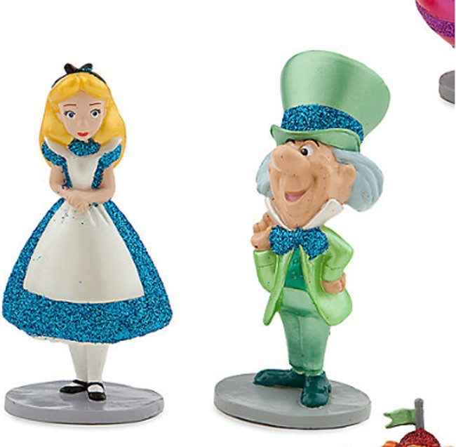 Alice In Wonderland Figure Play Set Disney Toy Play Set