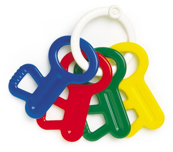 First Keys Baby Rattle Ambi Toys