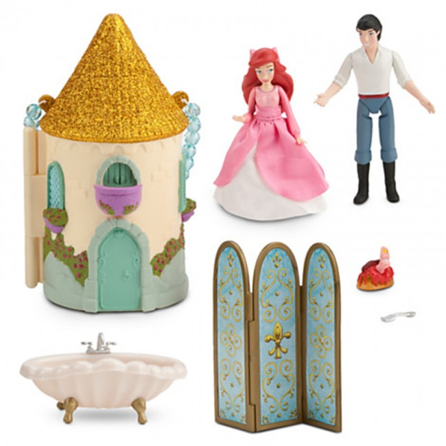 Disney Princess Ariel Mini Castle Play Set Toys City