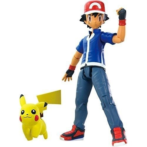 Pokemon Xy Trainer Figure Ash With Pikachu