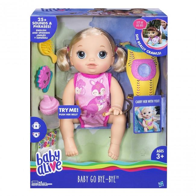 Baby Alive Baby Go Bye Bye Doll Toys Online Australia