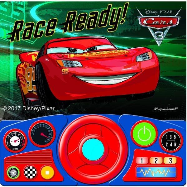 disney cars 3 race ready sound book lightning mcqueen kids
