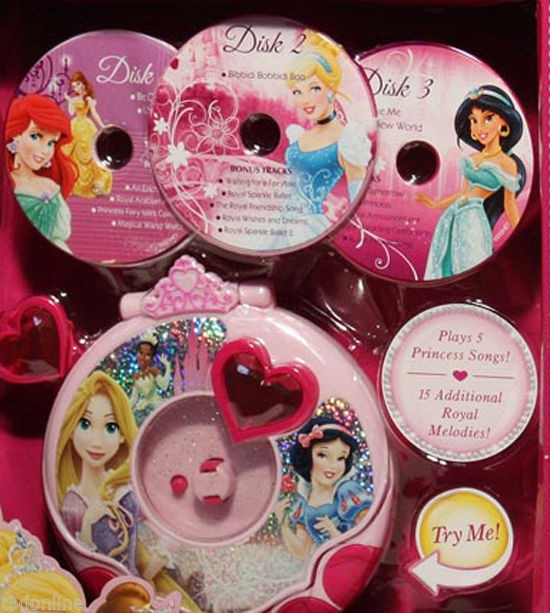 Disney Princess Music Player Toy Toys City Australia