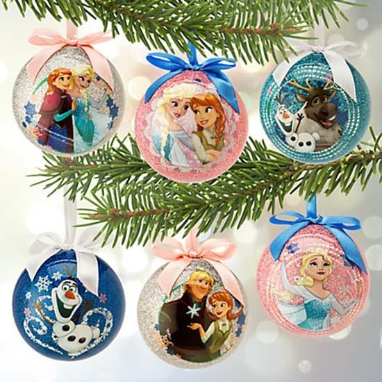disney frozen christmas ornament - Frozen Christmas Tree Ornaments