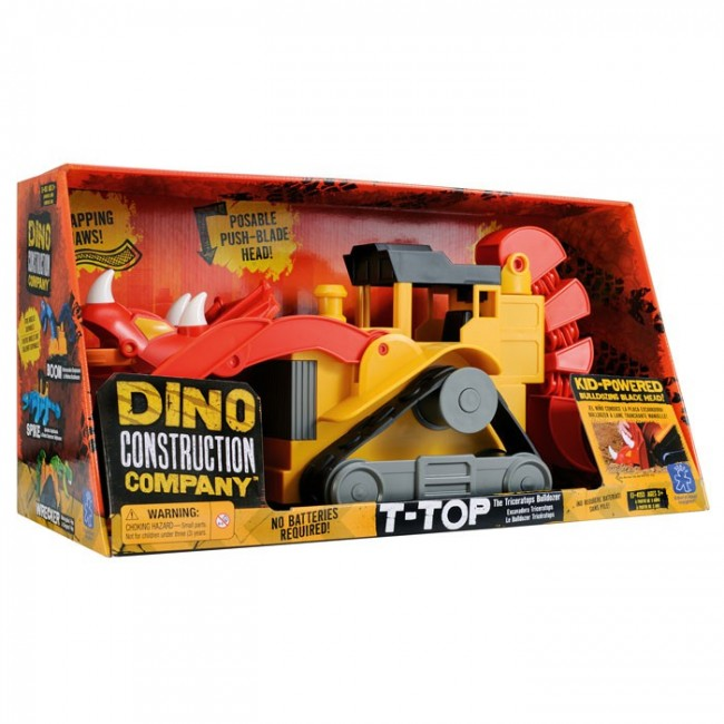 Dino Construction Company T Top The Triceratops
