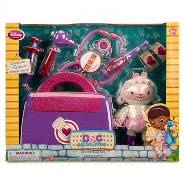 Disney Doc Mcstuffins Doctor Bag Medical Kit Toys Stethoscope