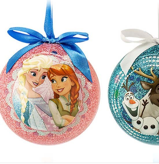 Disney Frozen christmas Ball Ornament Set - Princess Elsa ...