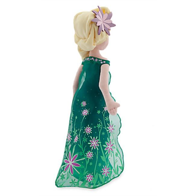 Elsa Plush Doll Frozen Fever Disney Plush Toy