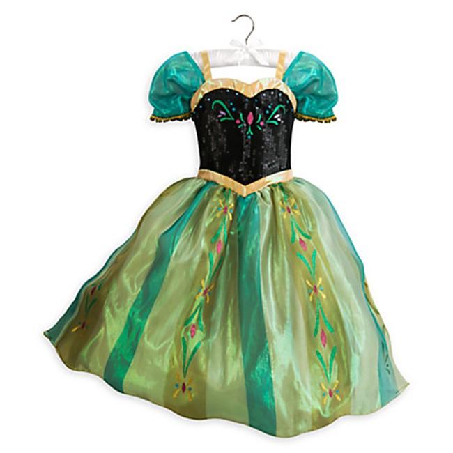 Disney Frozen Princess Anna Costume For Kids