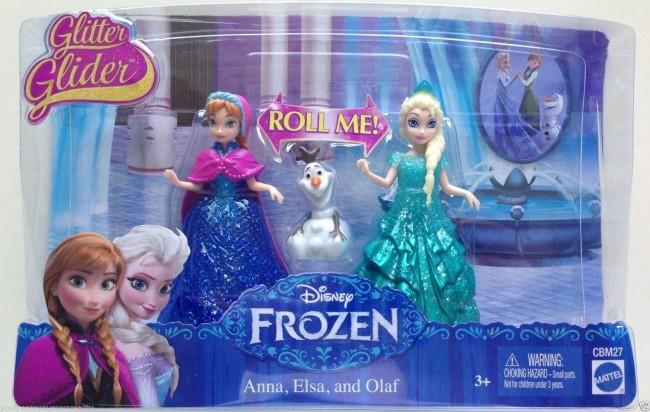 Disney Frozen Glitter Glider Princess Elsa Anna Olaf Doll